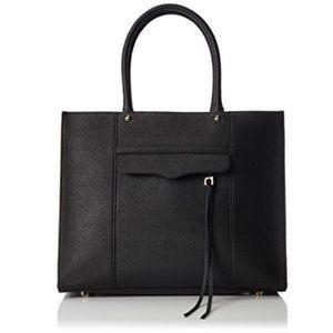 Rebecca Minkoff medium MAB Tote black leather
